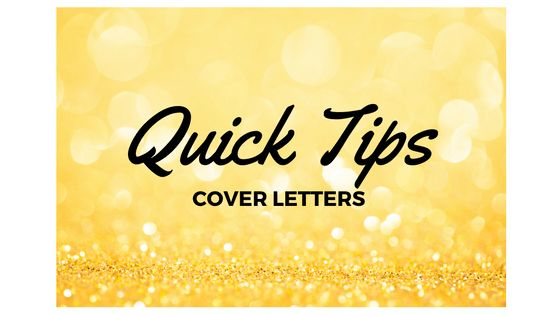 Quick Tips: 6 Ways to Improve Your Cover Letters Now - OneTeacher