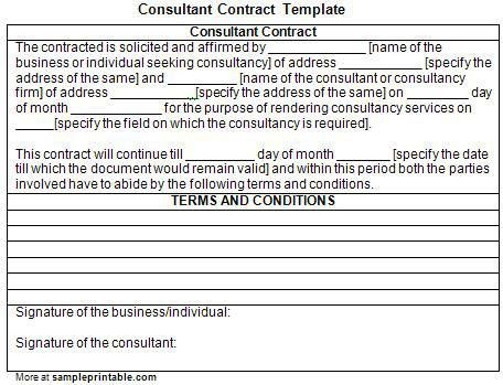 Business Consulting Agreement Template. Master Service Agreement ...