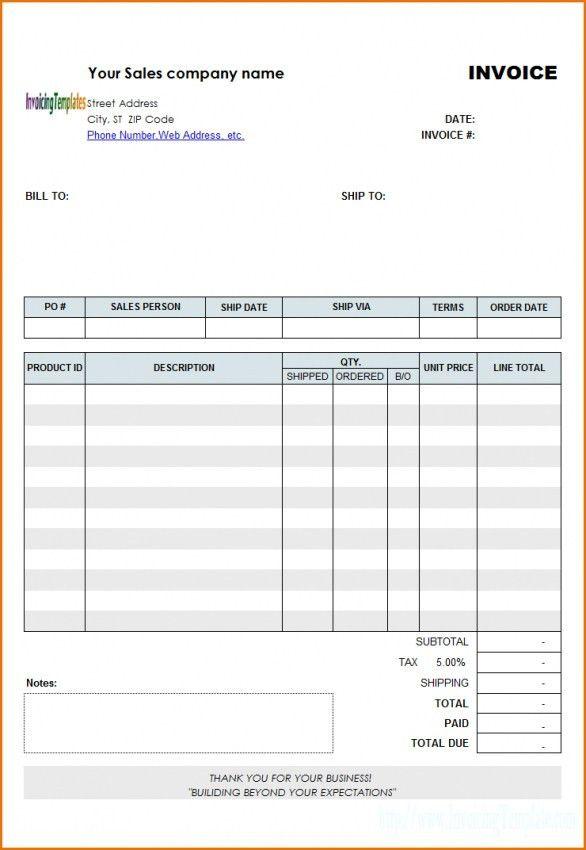 Download Invoice Template Get Harvest | rabitah.net