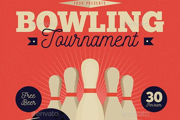 13+ Best Bowling Flyers Templates - Creative Template | Creative ...