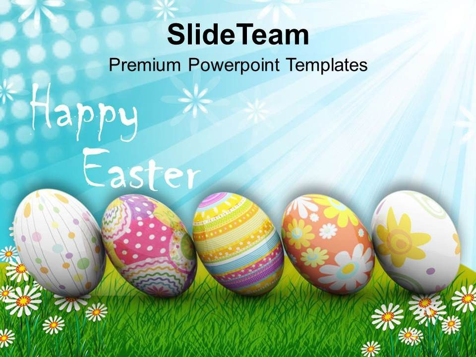 Easter Prayer Origin Of Spring New Life Happy Powerpoint Templates ...