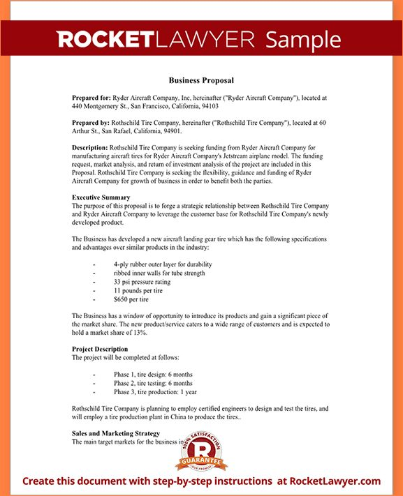 8+ simple proposal template | Procedure Template Sample