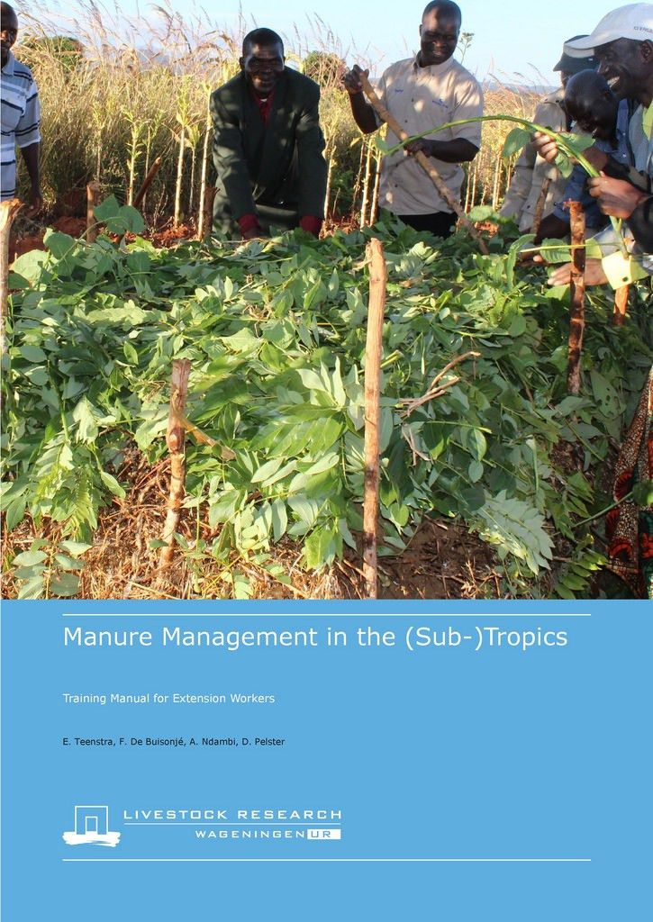 Manure manual cover page | Cover page of 'Manure management … | Flickr