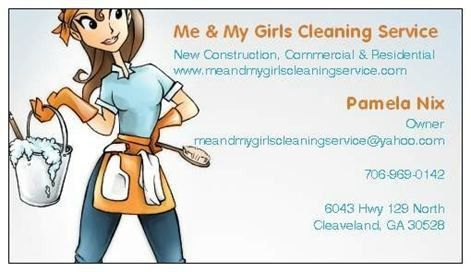 Me & My Girls Cleaning Service - Home