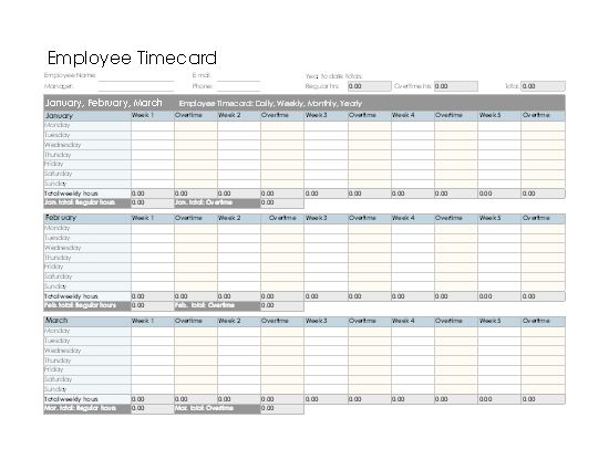Payroll calculator - Office Templates