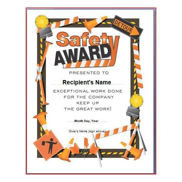 Printable Award Certificates. Certificate Maker - Terryberry ...