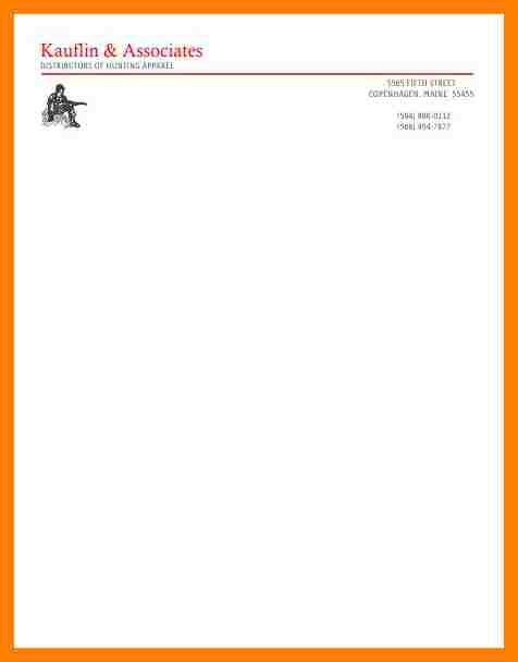 8+ letterhead format hd | coaching-resume