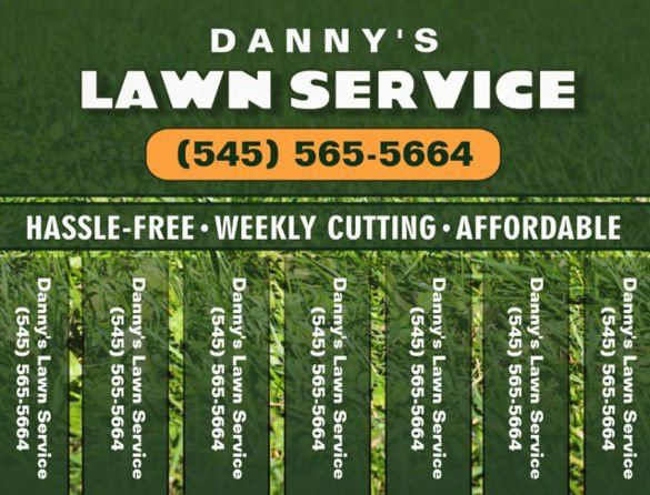 Lawn Care Flyer Template | Template Design