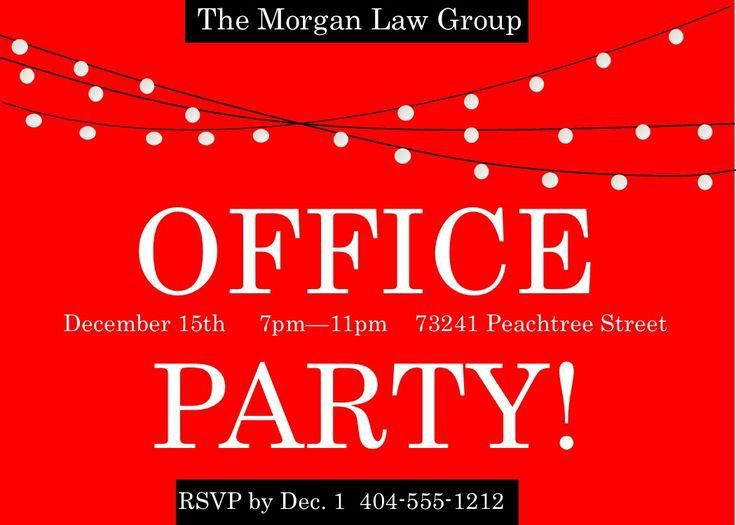 241 best Christmas party invitations images on Pinterest ...