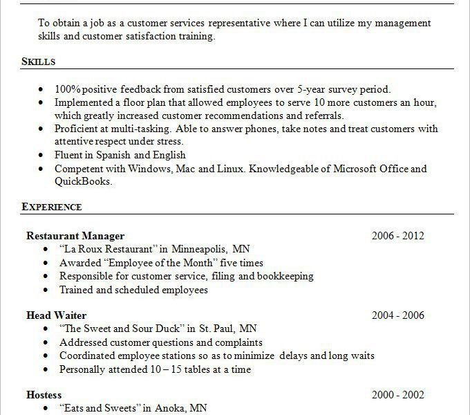 Simple Resume Template - Resume CV Cover Letter