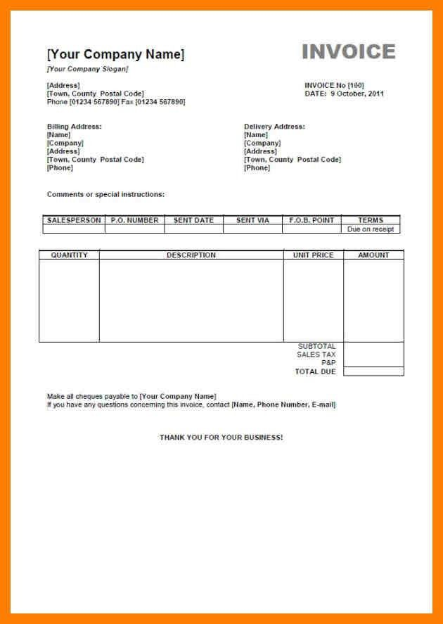 6+ invoice template free download | cfo resumed