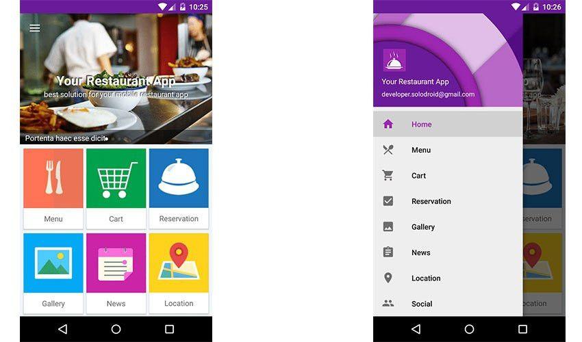 10 Best Restaurant App Templates