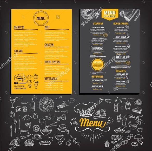 27+ Breakfast Menu Templates – Free Sample, Example Format ...