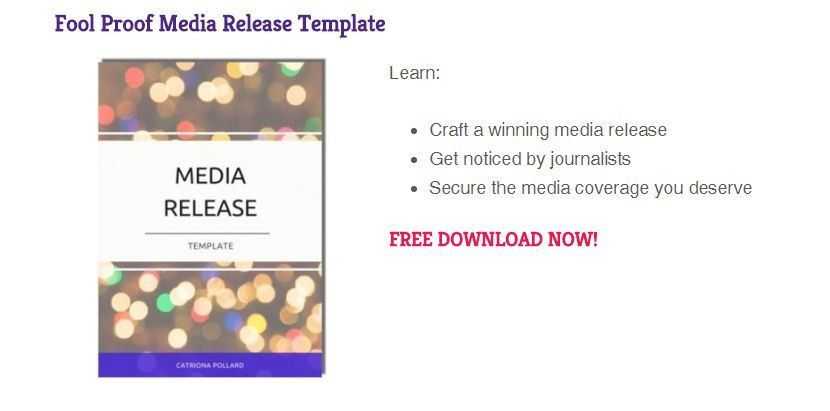 Press release sample: How to craft a winning press release