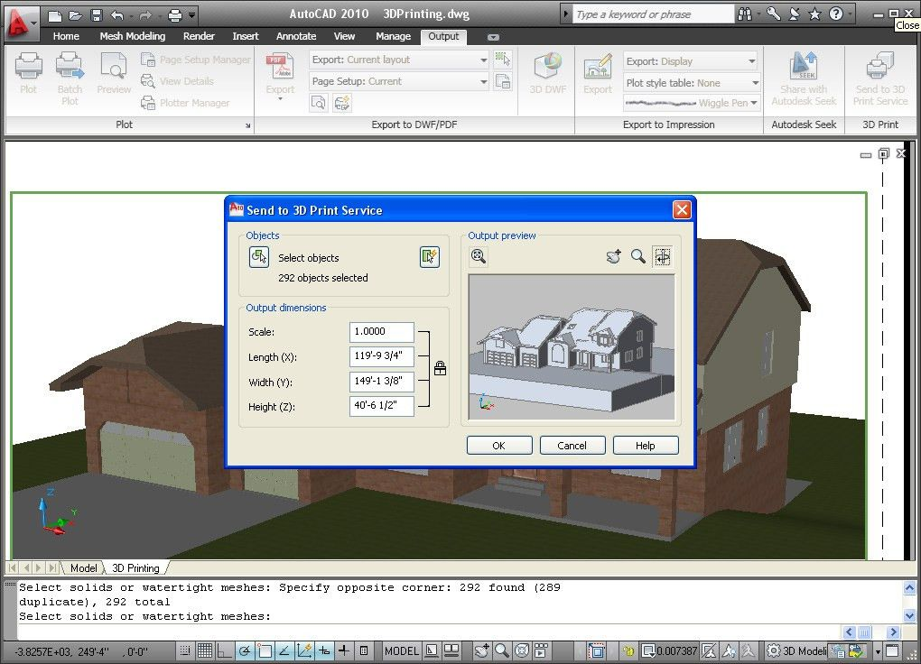 AutoCAD 2010 screenshot - Windows 8 Downloads