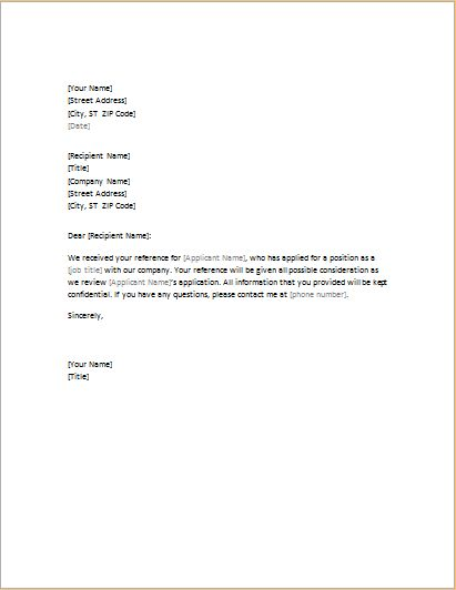 5 Academic and Professional Business Reference Letters | Document Hub