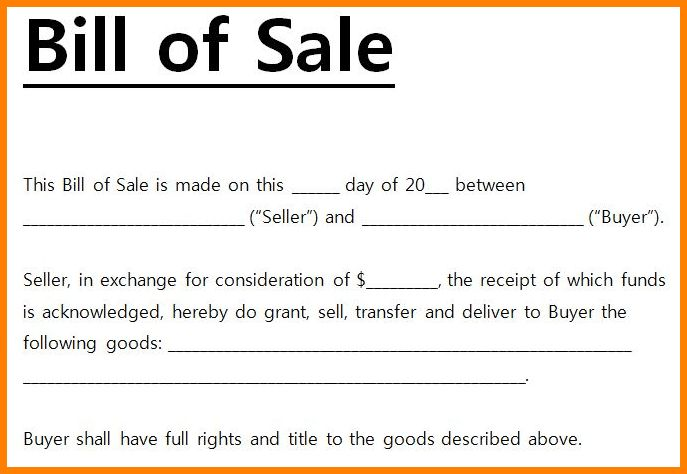 8+ free bill of sale form pdf | budget template