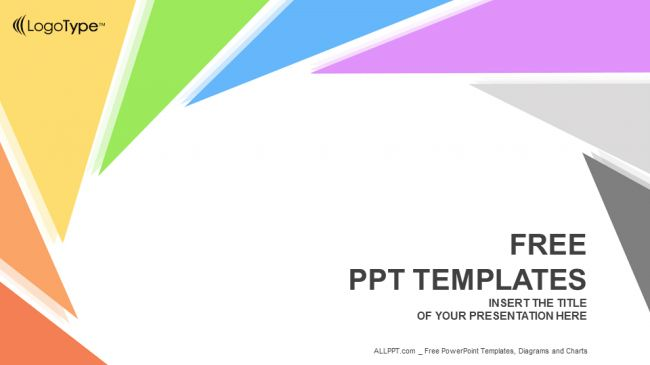 Rotation Triangle-Abstract PowerPoint Templates