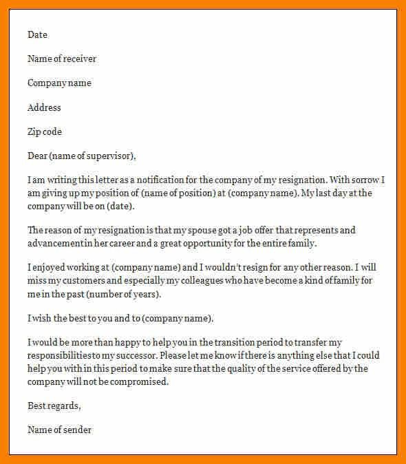 Resign Letter Format In Word.how To Do A Resignation Letter On ...
