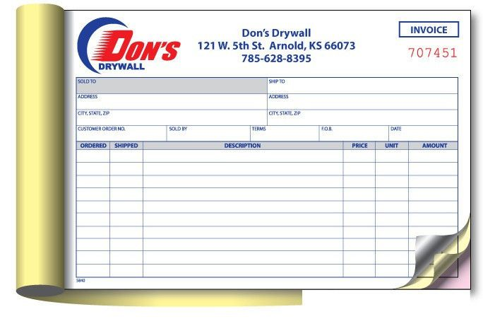 NCR sample receipt book customized-in Other Office & School ...