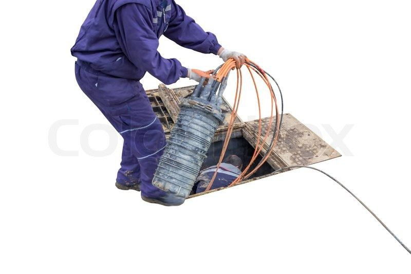 Fibre installation, access the existing ground infrastructure in ...