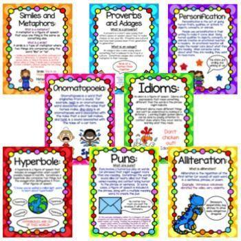 204 best Figurative Language images on Pinterest | Teaching ...