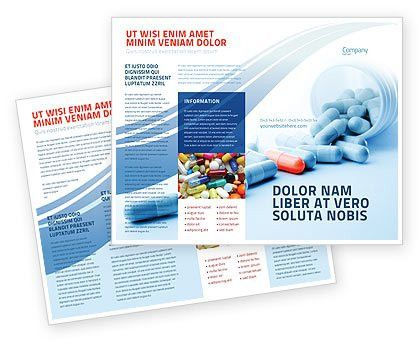 Drug Therapy Brochure Template Design and Layout, Download Now ...