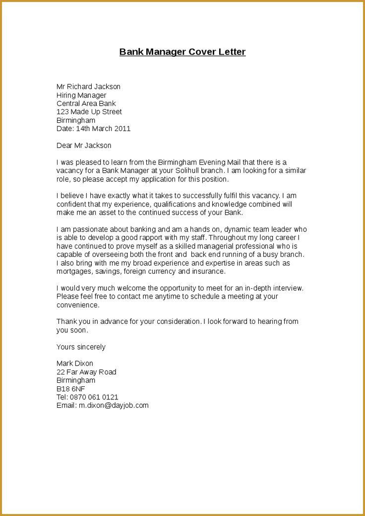 The Best Cover Letter for Bank Teller - Writing Resume Sample ...