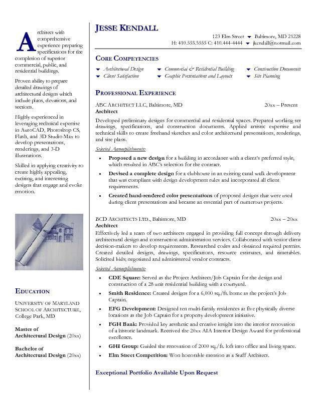 architectural assistant resume samples. it infrastructure ...