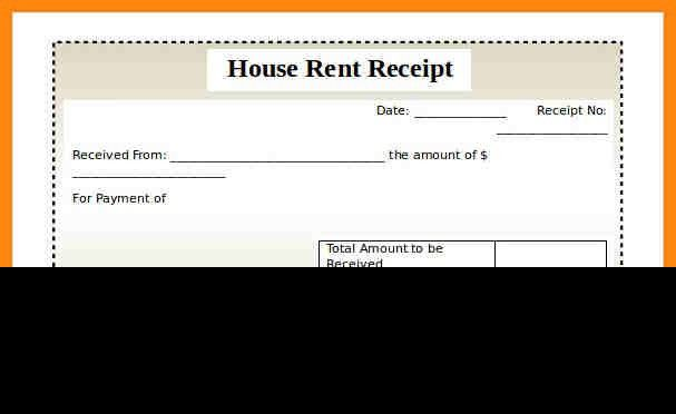 4+ house rent receipt sample | nurse resumed