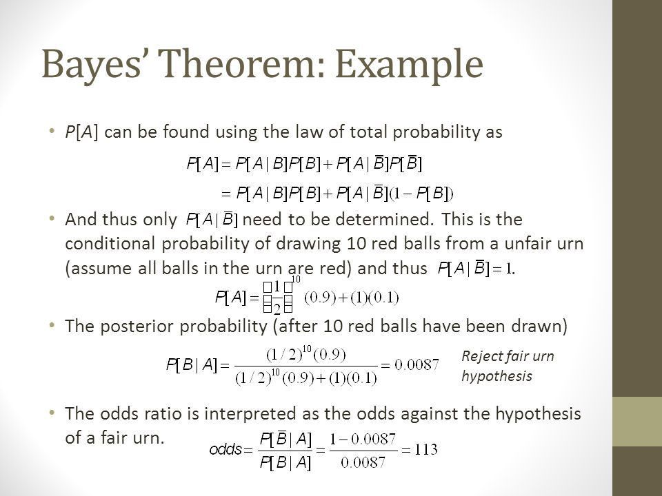 Conditional probability and Statistically Independent Events - ppt ...