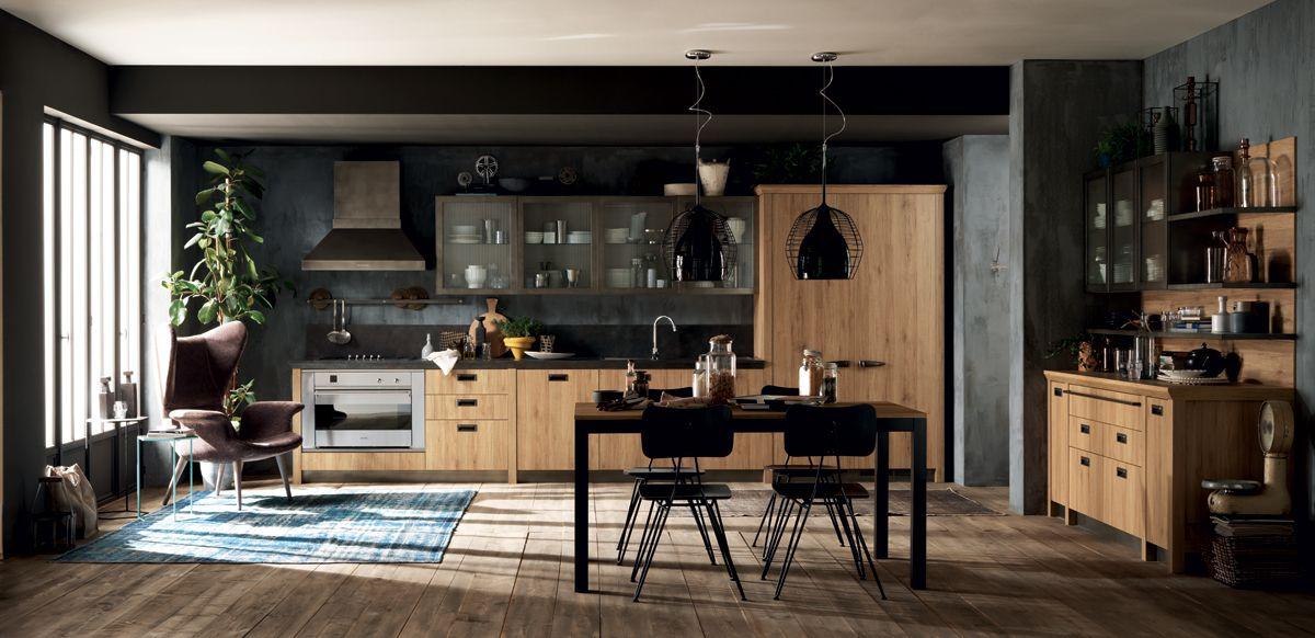 1000 images about kitchen on pinterest loft kitchen - Cucina stile vintage ...