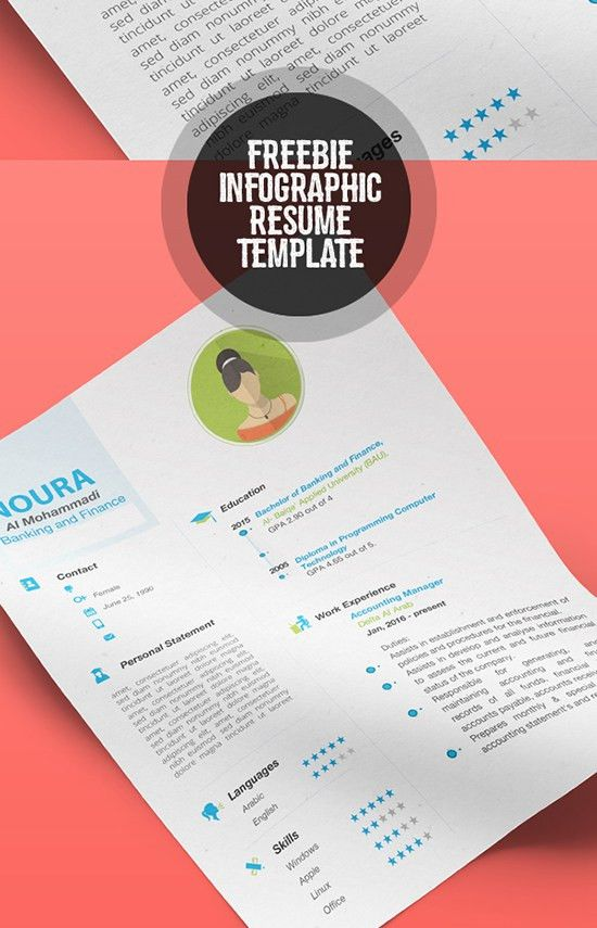 Infographic Resume » Infographic Resume Tutorial - Best Free ...