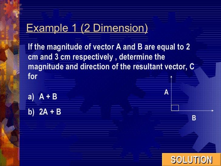 Chapter 1(4)SCALAR AND VECTOR