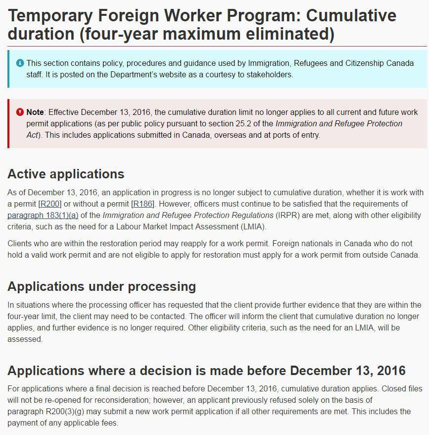Work Visa | Canadian Immigration Law Blog