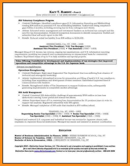 Banking Resume Examples. 9+ Investment Banking Resume Examples ...