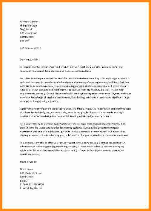 5+ job application letter example | model resumed