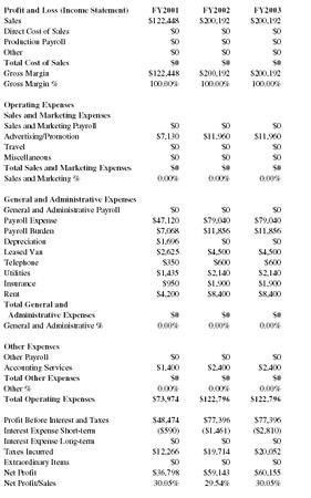 Computer Training Service Business Business Plan - Executive ...