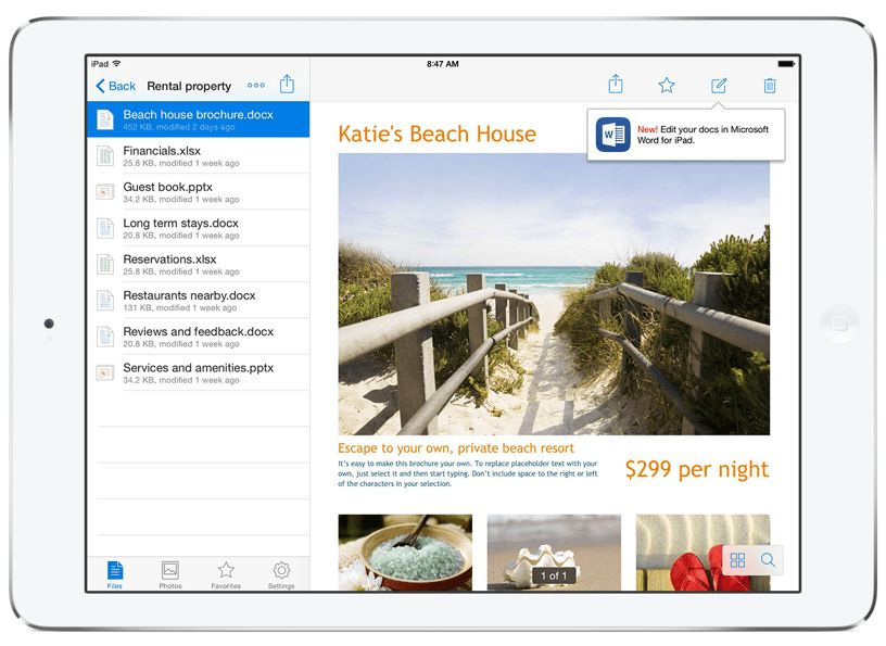 Office and Dropbox to work together on phones, tablets and web ...