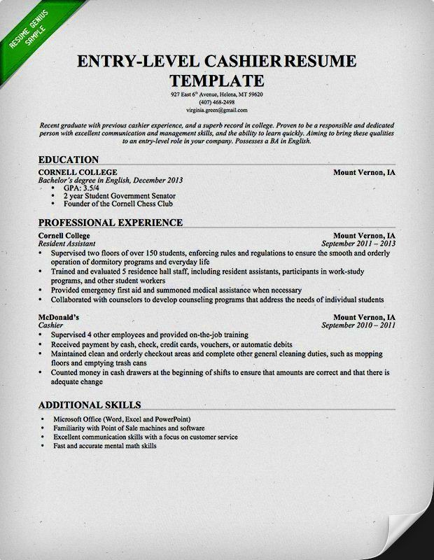 nice resume templates – Resume Template For Free