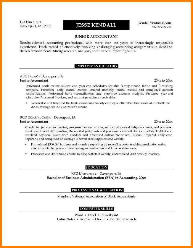 unusual design ideas accounting resume objective 13 accounting ...