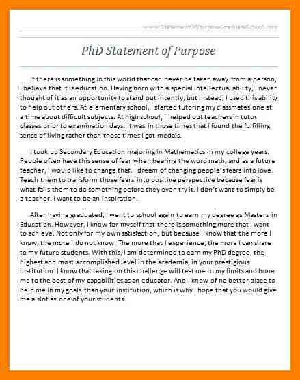 7+ grad school statement of purpose sample | fancy-resume
