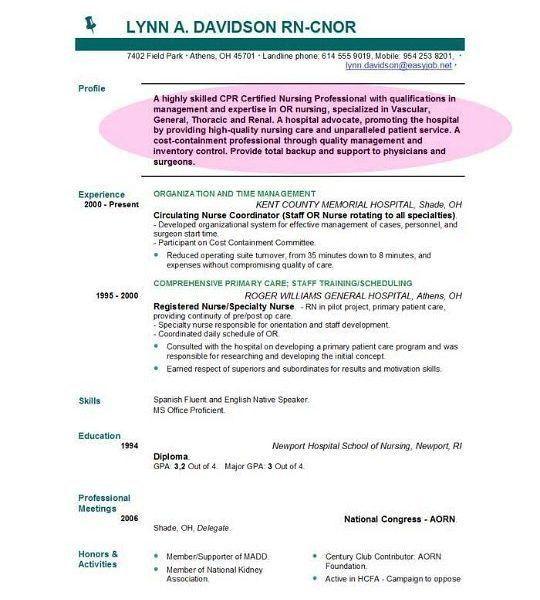 Resume Format For Job Objective Free Resume Builder Resume Builder ...