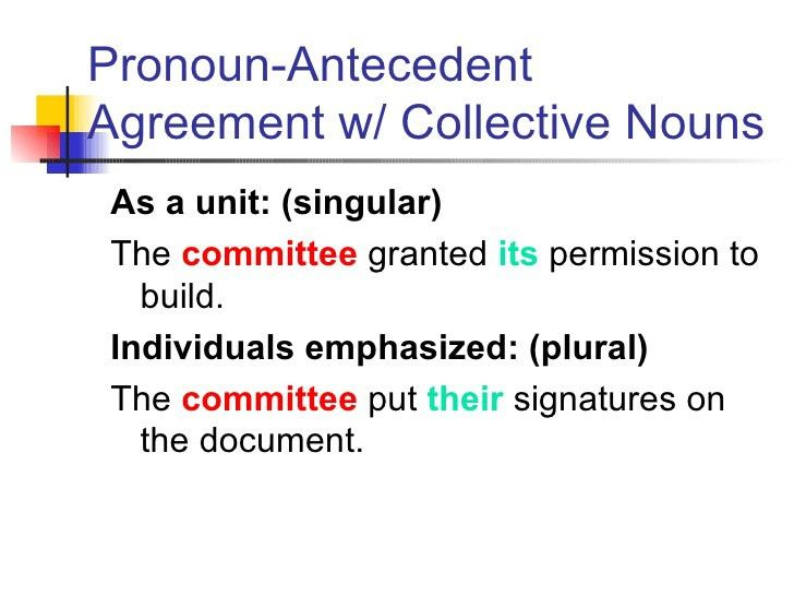 Pronoun antecedent powerpoint