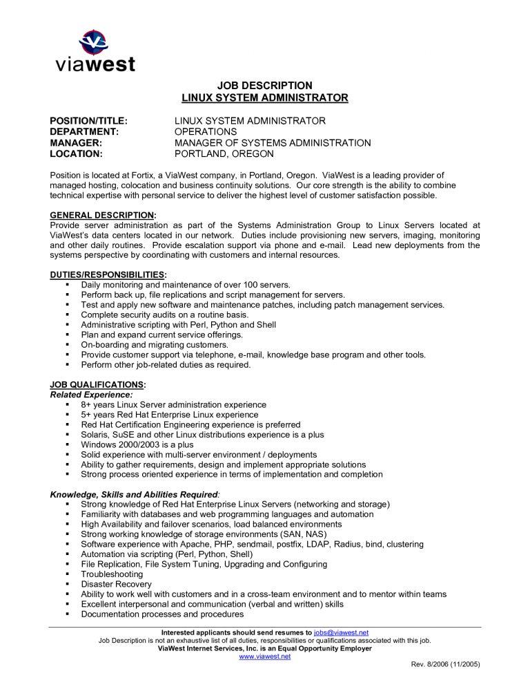 Download Mainframe Administration Sample Resume ...