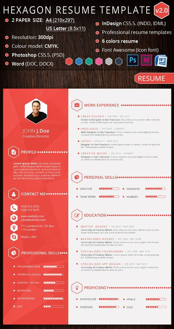 Download Graphic Resume Templates | haadyaooverbayresort.com