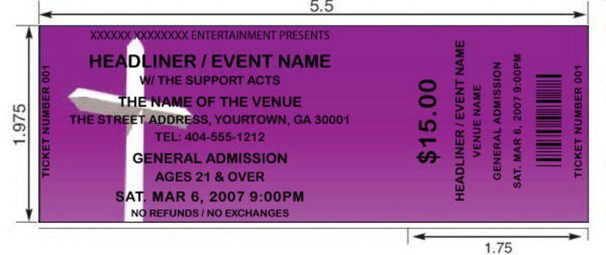 Purple Cross Tickets | by FreshTix Ticket Printing