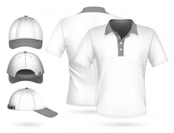 White blank T-shirt template psd | Freebies | Pinterest | Mockup