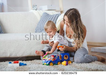 Babysitter Mother Stock Images, Royalty-Free Images & Vectors ...