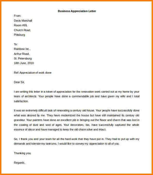 7+ business letter sample word | quote templates